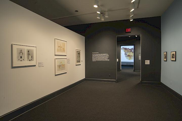 Exhibition view. Women House. National Museum of Women in the Arts, Washington. Photo: Lee Stalsworth