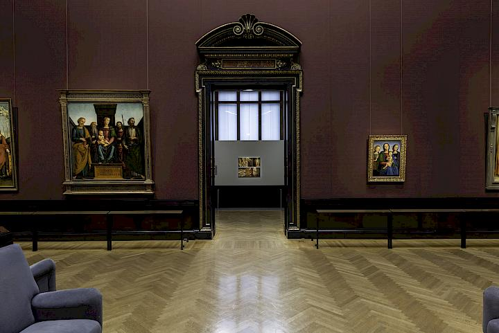 Exhibition view. The Shape of Time. Kunsthistorisches Museum, Vienna